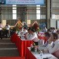 Ceremony on the occasion of commencement of jack-up construction for JV Vietsovpetro